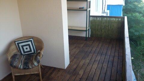 Квартира на берегу Чёрного моря, в Шепси - Фото 1