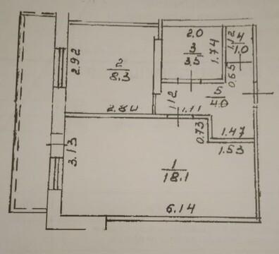 Продам однокомнатную квартиру в Шакше - Фото 1
