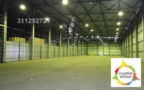 Под склад, раб. сост, неотапл, выс. от 9-10 м, ворота, еврофура, ого - Фото 1