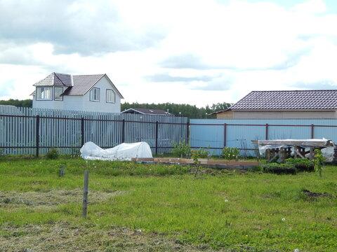 Участок 11 соток сруб для бани из бревна в Бражниково рядом с вдх - Фото 3