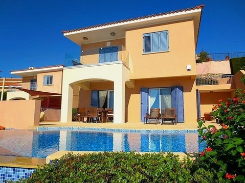 490 000 €, Великолепная 3-спальная Вилла с панорамным видом в районе Пафоса, Купить дом Пафос, Кипр, ID объекта - 502756696 - Фото 1