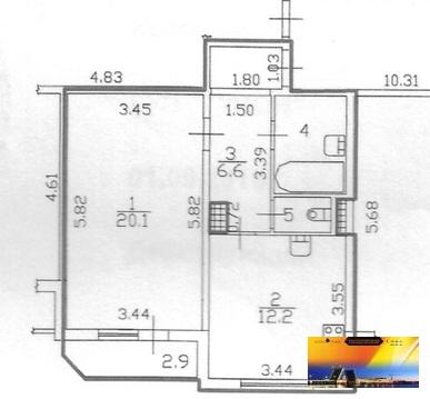 Хорошая квартира Отличной планировки в Современном монолитном доме - Фото 5