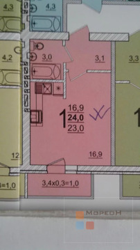 Объявление №62562294: Продаю 1 комн. квартиру. Яблоновский, Тургеневское Шоссе ул, 33/20к2,