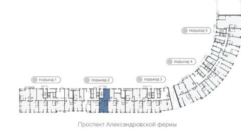 Продажа торгового помещения, м. Пролетарская, Александровской фермы . - Фото 3