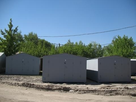 Металлический гараж новый - Фото 1