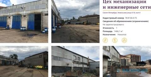 Продается 1эт здание 1466,1м2 на уч. 8007м2, ул. Невельская, д.10. - Фото 2