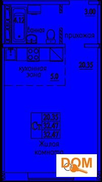 1 300 000 Руб., Продажа квартиры, Новосибирск, Ул. Татьяны Снежиной, Купить квартиру в Новосибирске по недорогой цене, ID объекта - 317874613 - Фото 1
