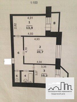Продажа двухкомнатной квартиры на Харьковской горе - Фото 1