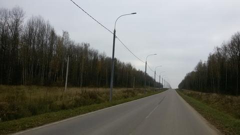 Участок 10 Га со всеми коммуникациями в 67 км по м-3 - Фото 4