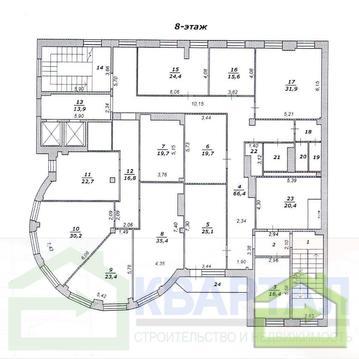 Офис 16 кв.м. в современном бизнес-центре - Фото 2
