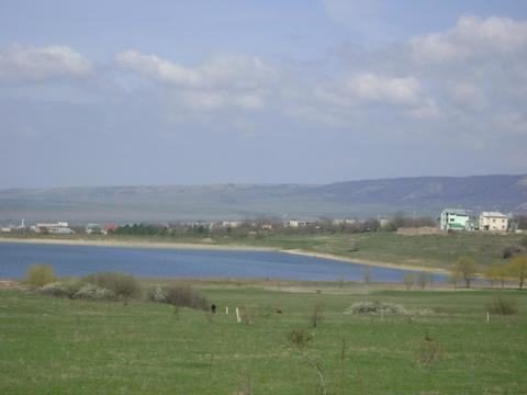 Земельный участок у озера в Крыму - Фото 1