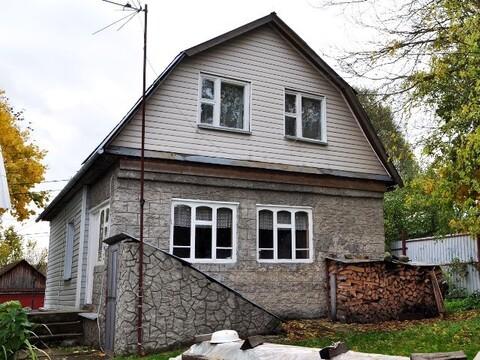 Двухэтажный дом 105 кв.м. расположен на участке 15 соток в д. Кривошеи - Фото 1