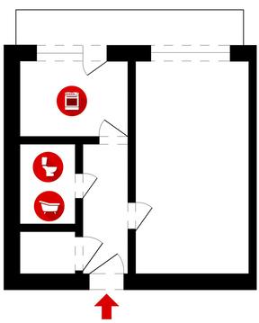 Владимир, Комиссарова ул, д.35, 1-комнатная квартира на продажу - Фото 1