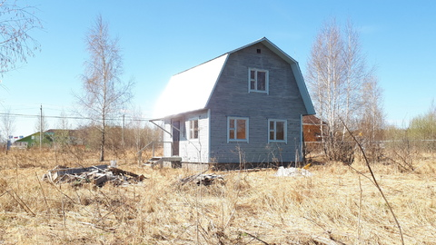 Дом 62кв.м. с участком 17соток, на окраине п.Заокский, рядом с ж/д ст. - Фото 3