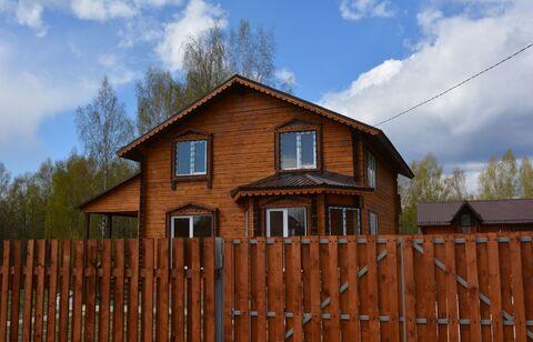Новый брусовой утеплённый дом в 35 км от Сергиев-Посада - Фото 1