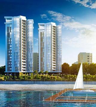 Купить двухкомнатную квартиру на берегу моря в Новороссийске - Фото 1