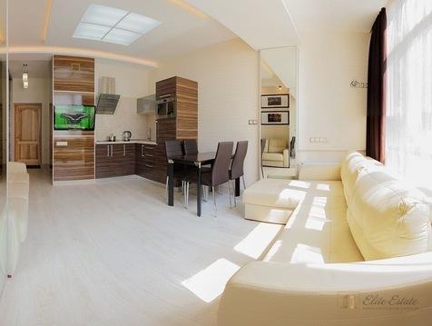 Видовые апартаменты на первой линии в Профессорском уголке в Алуште - Фото 1