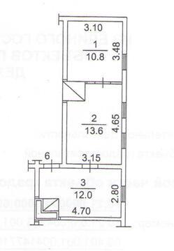 2-комнатная квартира (38 м2) под маткапитал - Фото 2