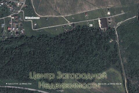 Участок, Каширское ш, Новорязанское ш, 25 км от МКАД, Шувайлово д. . - Фото 2