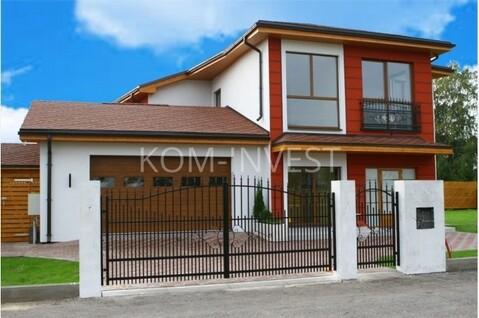 Новый дом с ремонтом в Марупе на улице Ламберту - Фото 1
