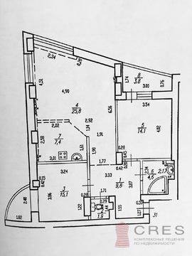 Трехкомнатная квартира в ЖК Парковый - Фото 3
