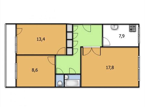 3-х комнатная квартира на жби - Фото 5