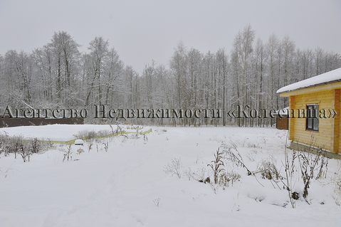 Нара. прилесной земельный участок 12 соток с фундаментом и гаражом. - Фото 1