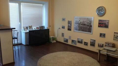Продается 1-я стильная квартира-студио в центре г. Руза - Фото 1