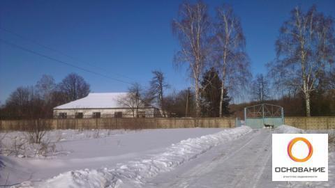 Земельный участок со строением - Фото 1