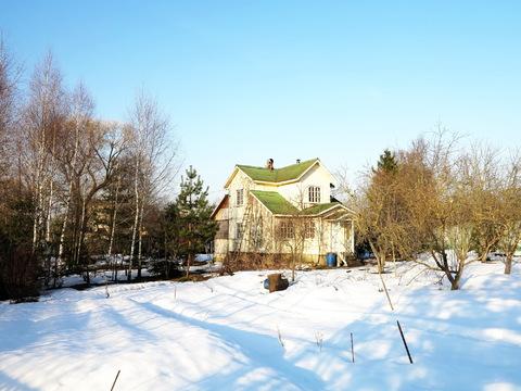 Дом 150 кв.м. в деревне, 22 сотки. Район Колюбакино. 65 км. от МКАД - Фото 1