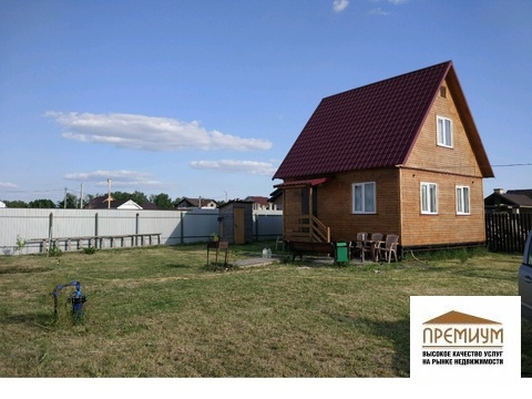 Продается дом 72м2/10с в кп Красная поляна, Домодедово г/о - Фото 1