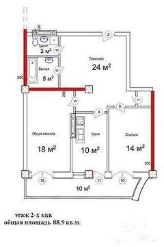 2-комнатная в Гурзуфе в новом доме - Фото 3