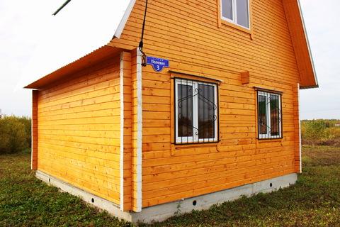 Добротный деревянный домик в деревне Вороново, недалеко от ж/д станции, Продажа домов и коттеджей Пахомово, Заокский район, ID объекта - 503004652 - Фото 1