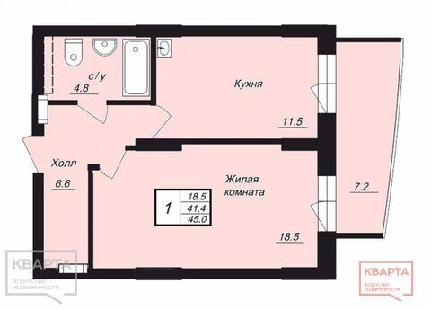 Продажа квартиры, Новосибирск, Ул. Линейная, Купить квартиру в Новосибирске по недорогой цене, ID объекта - 320273882 - Фото 1