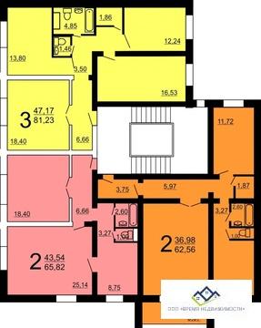 Продам квартиру Краснопольский пр 6стр , 2 эт, 65 кв.м, цена 2130 т.р. - Фото 2