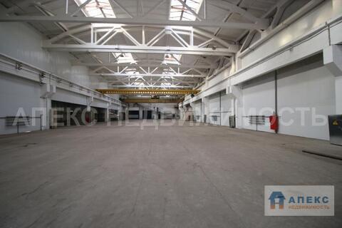 Аренда помещения пл. 3627 м2 под склад, производство, , офис и склад, . - Фото 3