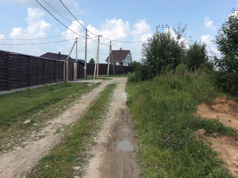 6 соток д.Ваулово Чеховского района - Фото 1