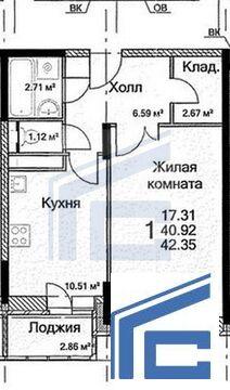 Продается 2-х. комн. кв. г. Домодедово, ул.Каширское ш. 6 - Фото 4