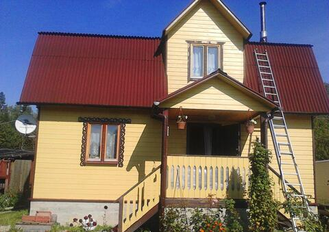 Продается 2х этажная дача 150 кв.м. на участке 7 соток, д.Могутово СНТ - Фото 1