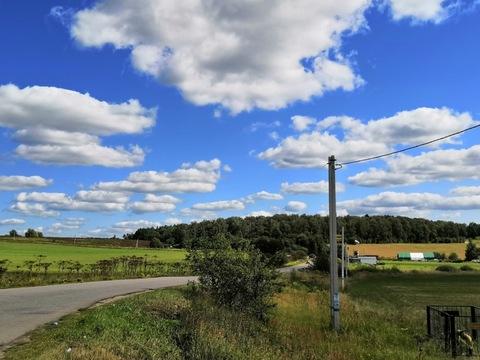 Продаётся земельный участок 10 сот. с лесными деревьями -35 км от МКАД - Фото 3