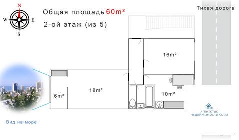 Краснодарский край, Сочи, ул. Дмитриевой,30 3