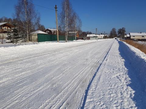 Земельные участки 11-12 соток в жилой деревне - Фото 1