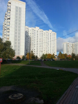 Однокомнатная квартира в Южном Бутово - Фото 1