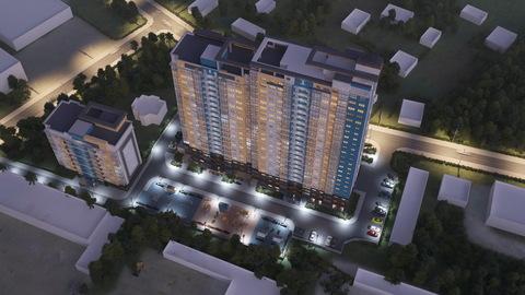 Квартира в новостройке: г.Липецк, Фрунзе улица, д.85 - Фото 2