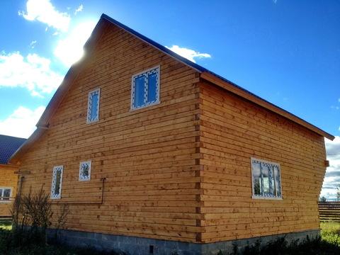 На участке 25 соток продается теплый зимний дом. Деревня! Прописка! - Фото 4