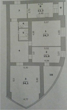 Продажа 3-к квартиры в новостройке в начале харьковской горы - Фото 4