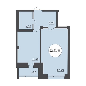 Продажа квартиры в новостройке - Фото 1