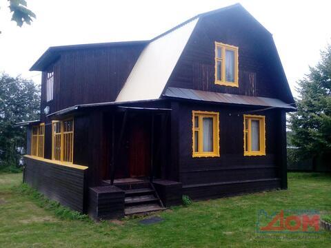 Дом с баней на брегу Мологи Устюженский район, д. Глины - Фото 1