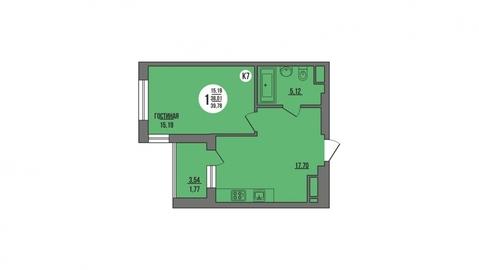 Продажа квартиры, Пенза, Ул. Антонова, Продажа квартир в Пензе, ID объекта - 325994181 - Фото 1
