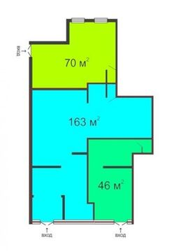 Сдам торговое помещение 163 кв.м, м. Комендантский проспект - Фото 3